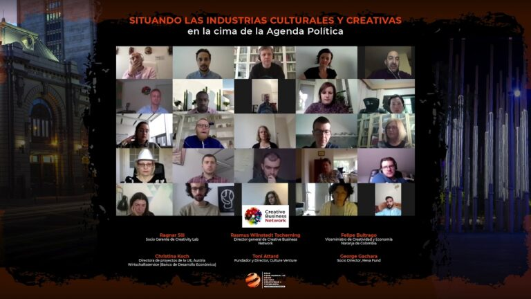 GFACCT – Situando las industrias culturales y creativas en la cima de la agenda política (Español)