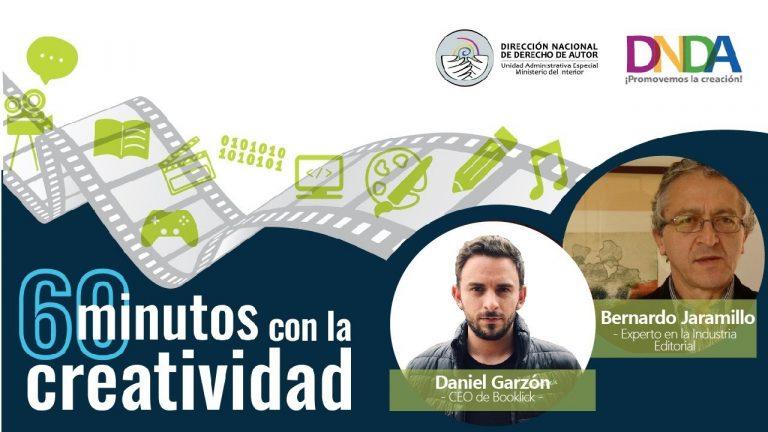 60 minutos con la creatividad: Daniel Garzón y Bernardo Jaramillo