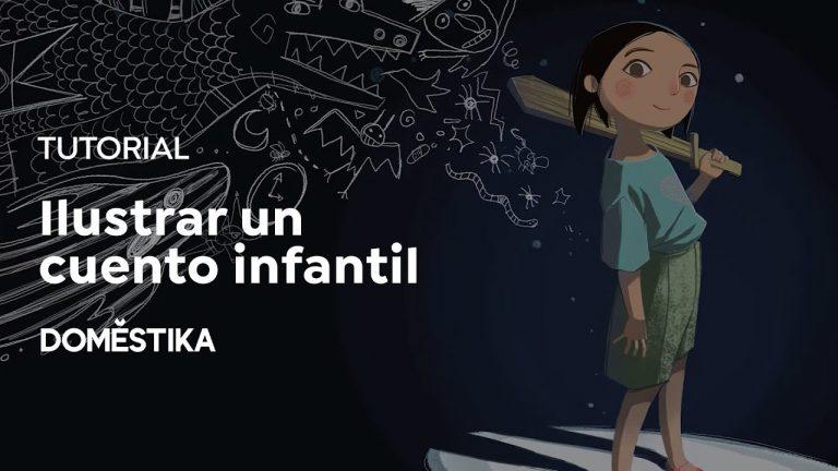 TUTORIAL Ilustración | Consejos para Ilustrar un Cuento Infantil | Teresa Martínez | Domestika