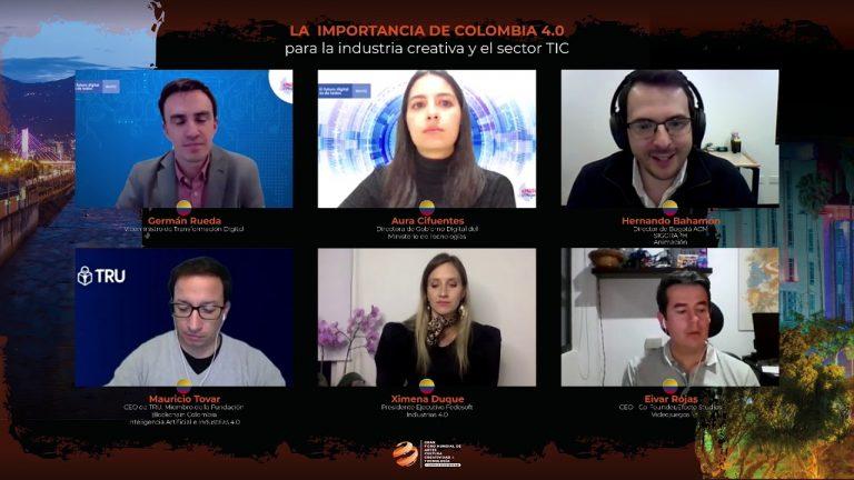 GFACCT – La  importancia de Colombia 4.0  para la industria creativa y el sector TIC