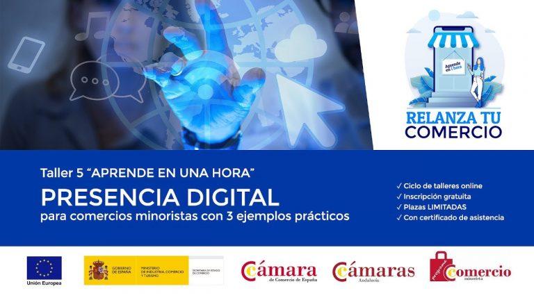 Presencia digital para comercios minoristas con 3 ejemplos prácticos.