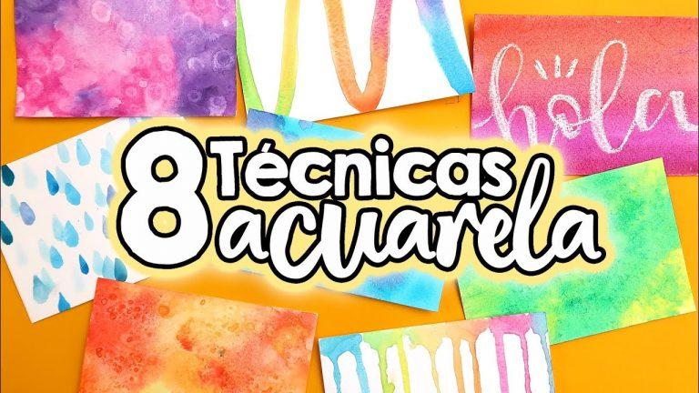 FONDOS Y TEXTURAS con ACUARELA!! ✄ Barbs Arenas Art!