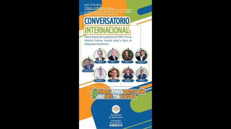 """""""Conversatorio sobre el impacto del del Covid-19 en las Industrias Creativas"""" Parte 2"""
