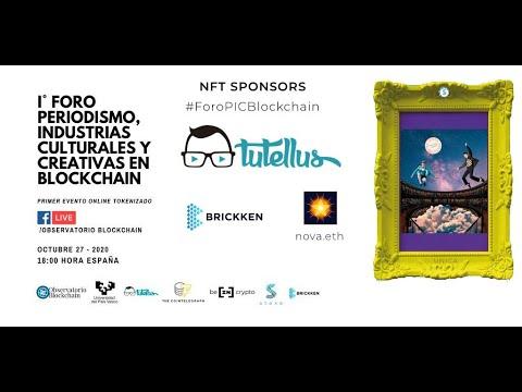 #ForoPICBlockchain Panel 5 :  Tokenización, reinventando el futuro de las industrias culturales