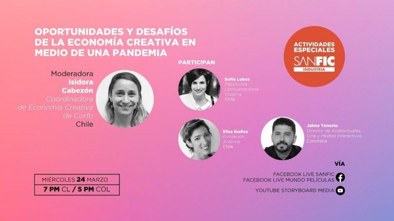 Posicionamiento, oportunidades y desafíos de la economía creativa en un mundo pandémico