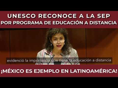 ¡México Ejemplo en Latinoamérica! La UNESCO Reconoce a la SEP Por Educación a Distancia