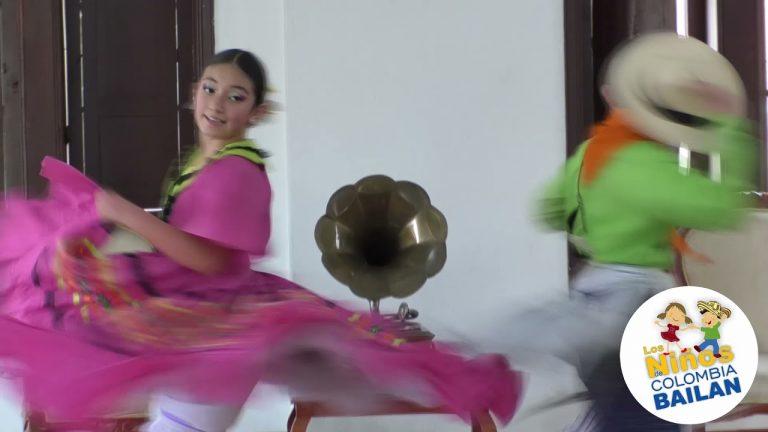 """""""Mula rucia"""" – Pasillo fiestero – 19° Festival Virtual Los Niños de Colombia Bailan"""
