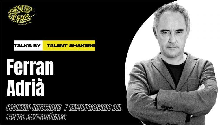 Entrevista a Ferran Adrià, cocinero innovador y revolucionario del mundo gastronómico