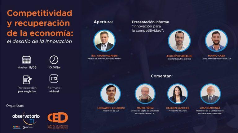 La innovación tecnológica es clave para la recuperación económica de Uruguay