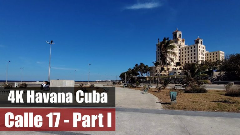 "Calle 17   Malecon – Avenida G   La Habana 2021   Cuba   Subtitulos ""CC"" con narracion."