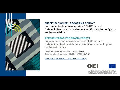 Presentación del programa FORCYT