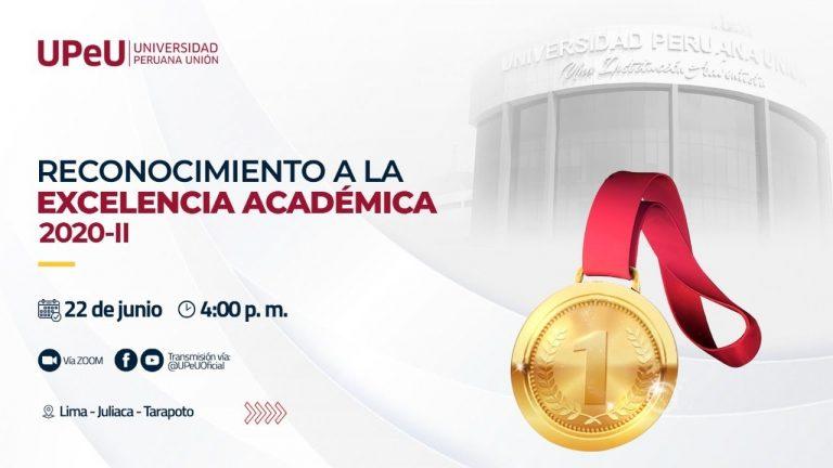 Reconocimiento a la Excelencia Académica 2020 – II