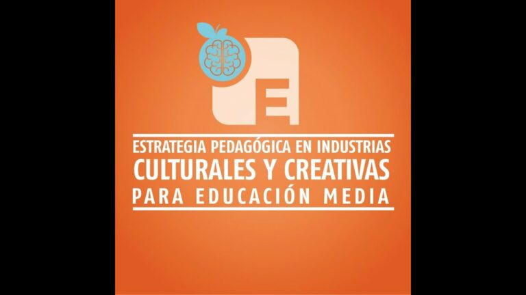 Estrategia Pedagógica en Industrias Culturales y Creativas