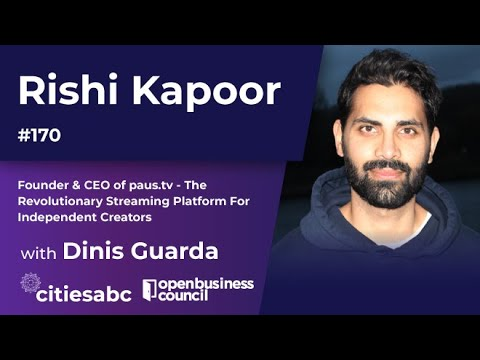 Rishi Kapoor, Founder & CEO of paus.tv – A Revolutionary Streaming Platform For Independent Creators