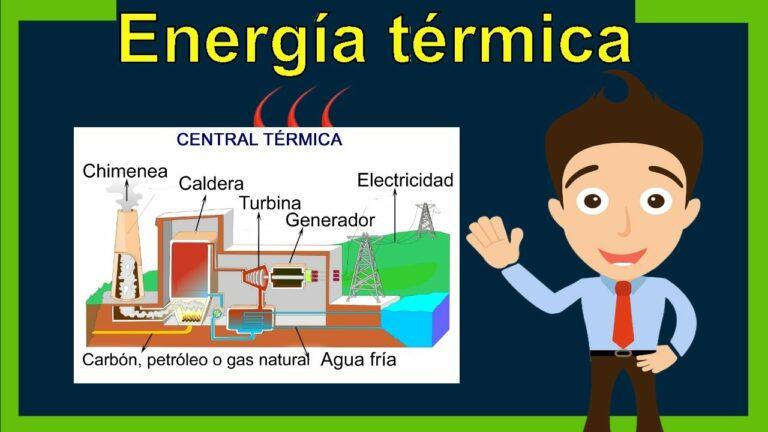 ¿Qué es la ENERGÍA TÉRMICA? (Definición y Ejemplos)