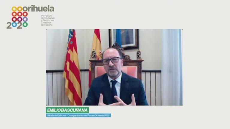 Emilio Bascuñana – FÓRUM ORIHUELA 2020