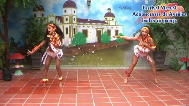 """""""Mapalé"""" – Colombia – 21° Festival Virtual Los Adolescentes de América Bailan"""
