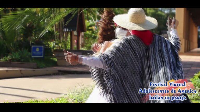 """""""La Palomita"""" – Paraguay – 21° Festival Virtual Los Adolescentes de América Bailan"""