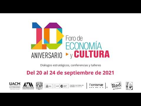 10 Foro Economía y Cultura / Conferencia Jaron Rowan (Es)