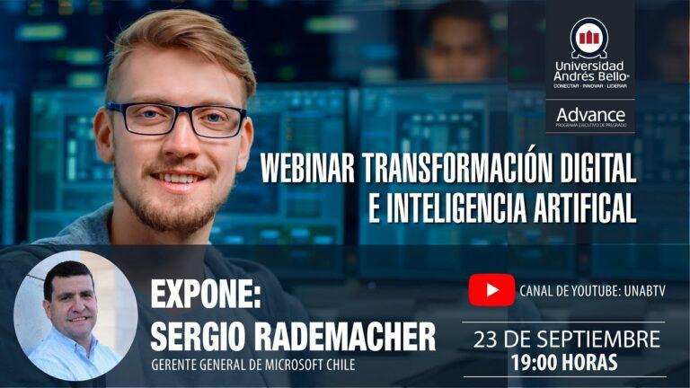 Webinar Transformación digital e Inteligencia Artificial
