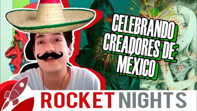 RocketNights 35 | Creadores Mexicanos que no Conocías