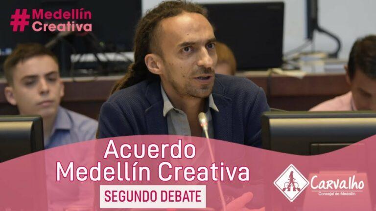 ECONOMÍAS CREATIVAS: una oportunidad para Medellín | Daniel CARVALHO sobre el nuevo acuerdo